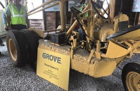 Первый кран компании Grove