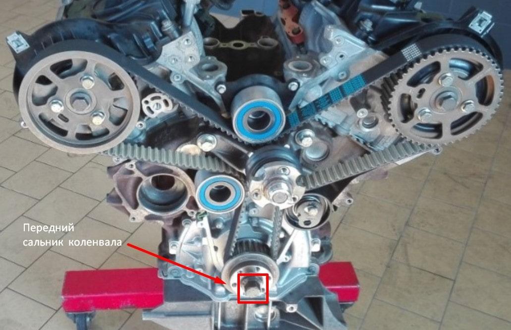 дизельный двигатель 2.7