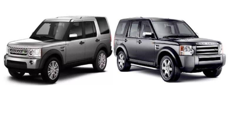 Land Rover Discovery 3 и 4 на главной