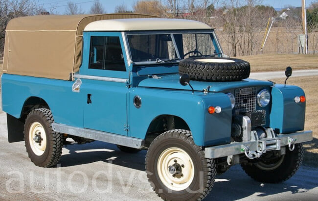 1963 Land Rover Series 2A 109 Pick-Up