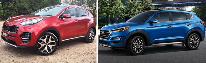 Кузов Hyundai Tucson и Kia Sportage