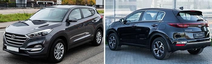 Обзор Hyundai Tucson и Kia Sportage