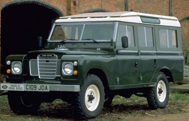 Defender Серия 3 (1971–1985)