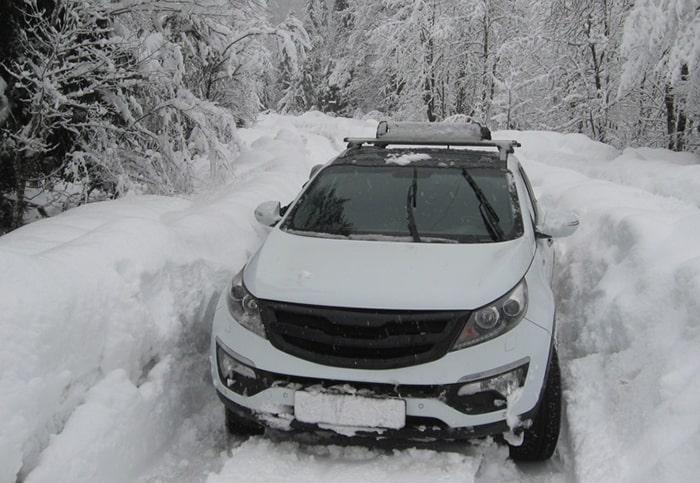 Kia Sportage не заводится зимой