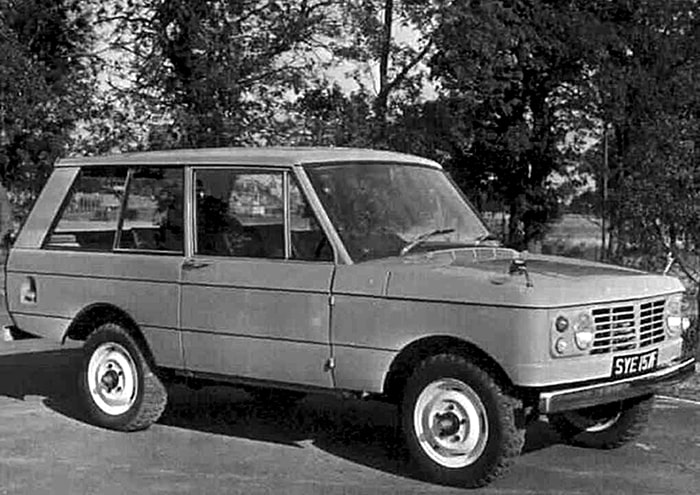 Land Rover Range Rover первый прототип