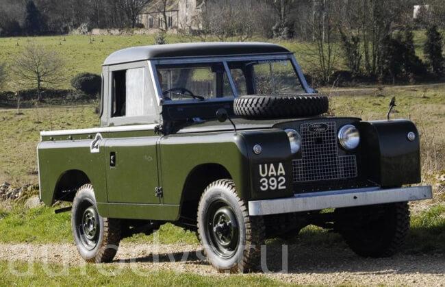 Land Rover Series II 88 Pickup 1958