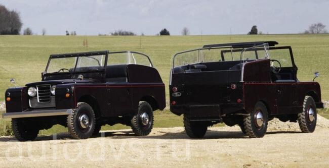 Land Rover Series II Royal Car 1958
