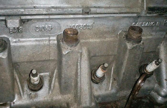 Номер двигателя ВАЗ 2114