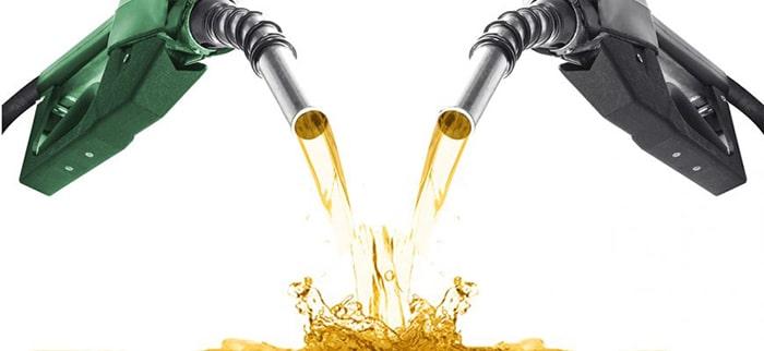 Смешивание бензина