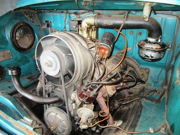 Двигатель с воздушным охлаждением