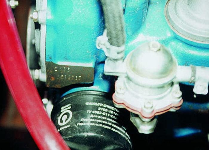 Номер двигателя на ВАЗ 2107
