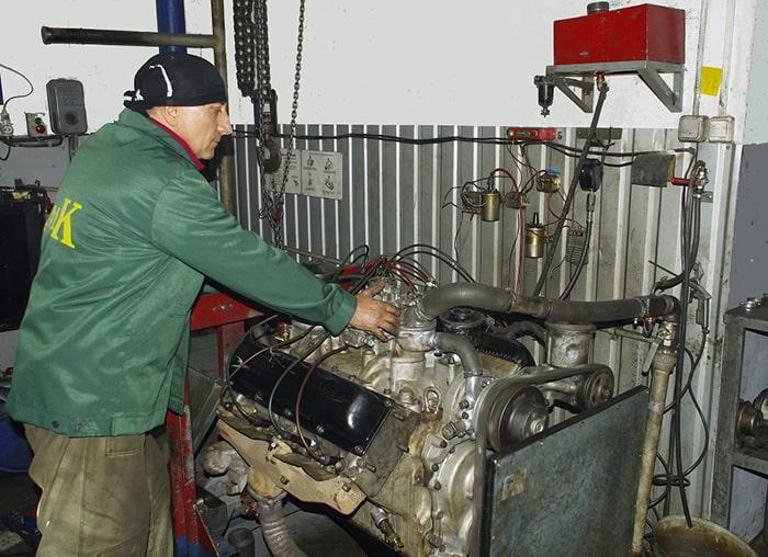 Обкатка двигателя на стенде
