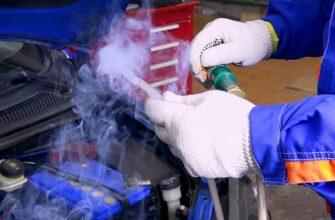 Подсос воздуха в двигателе