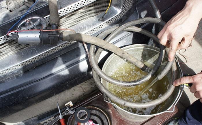 Промывка системы охлаждения водой