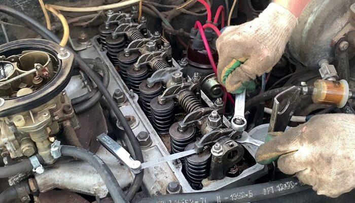 Регулировка клапанов 402 двигатель
