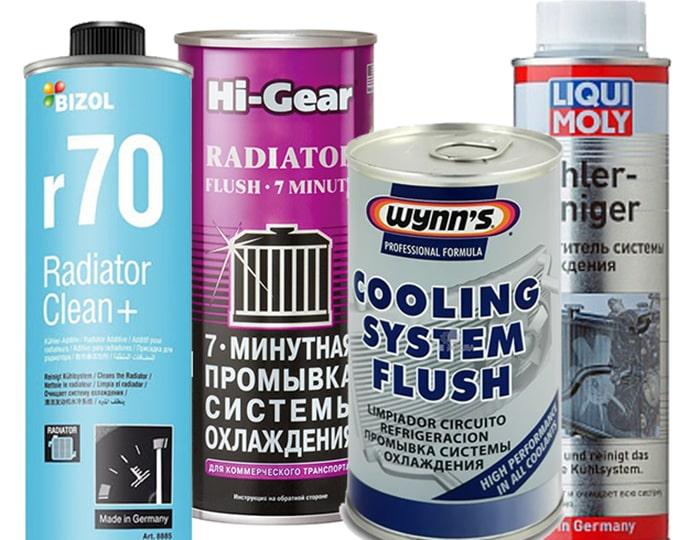 Средства для промывки системы охлаждения