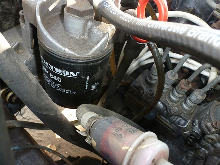 Топливный фильтр дизельного двигателя