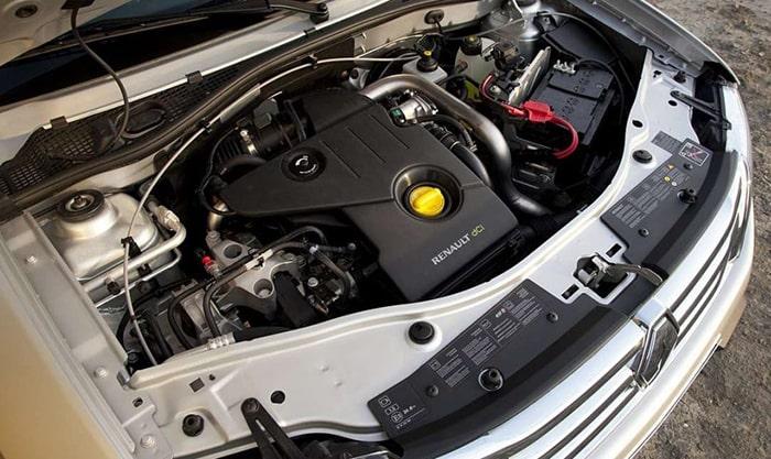 Трубированный дизельный двигатель Рено